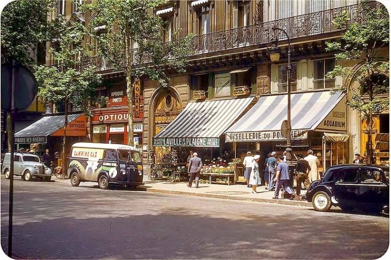 Ле-Аль середины прошлого века в цветных фотографиях